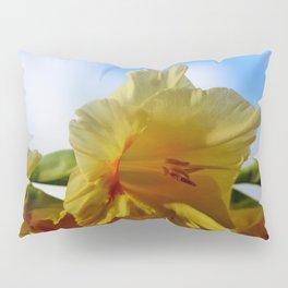 Yellow Gladiolus Pillow Sham