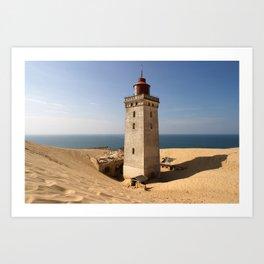 Lighthouse - Rubjerg Knude Art Print