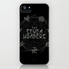 The Seven Wonders iPhone Case