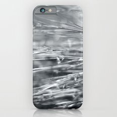 Fire Grass in Black and White iPhone 6s Slim Case