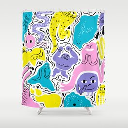 All party! Shower Curtain