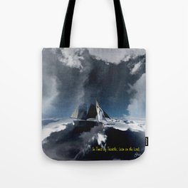 On Troubled Seas Tote Bag