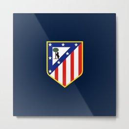 ATLETICO FC Metal Print