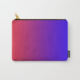 Dark-Blue and Red Gradient 020 Carry-All Pouch