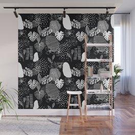 Issa Tropical B&W Wall Mural