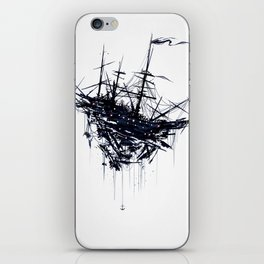 Shattered Ship iPhone Skin
