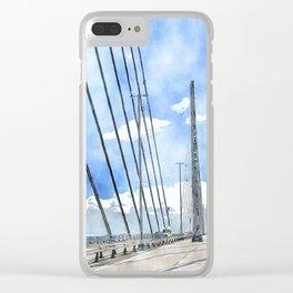 Öresund bridge Clear iPhone Case
