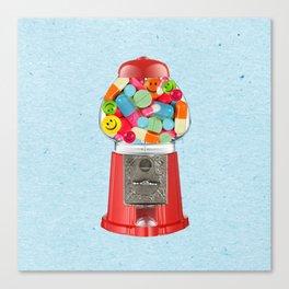 crazy candy Canvas Print