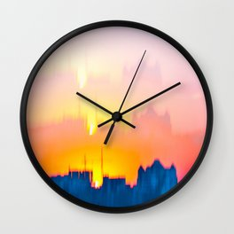 Cityline Mirage Wall Clock