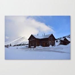 Section House hut Canvas Print