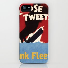 Loose Tweets Sink Fleets iPhone Case
