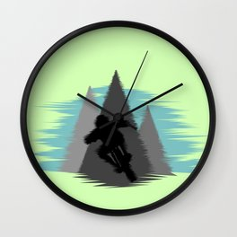 MTB Quake Wall Clock