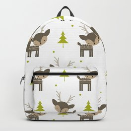 Deer and Trees Backpack