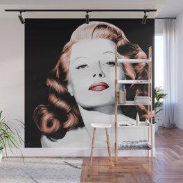 Rita Hayworth Large Size Portrait Wall Mural