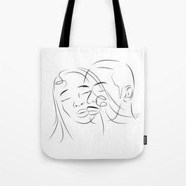 Face Love Tote Bag
