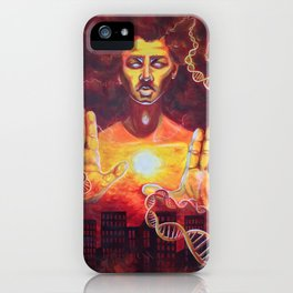 Karmic Burn iPhone Case