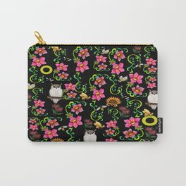 Owl Bee Loving You Carry-All Pouch