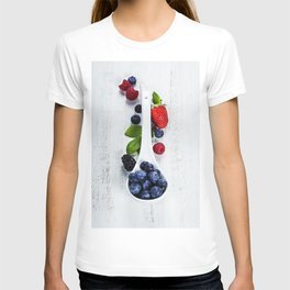 Berries with spoon T-shirt