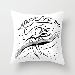 upwrds Throw Pillow
