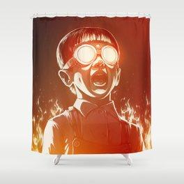 FIREEE! Shower Curtain
