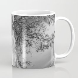 9102-LP Tree of Life Nature Goddess Earth Mother One with the Tree BW Fine Art Nude Coffee Mug