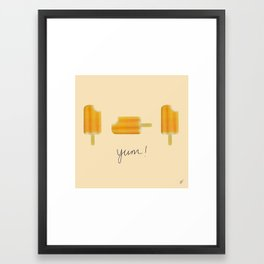 """Yum 2"" Framed Art Print"