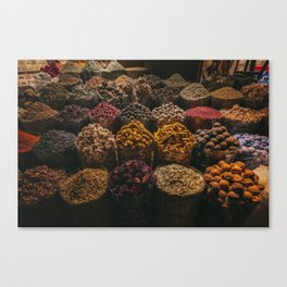 Jumeirah souk madinat Canvas Print