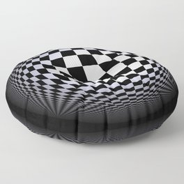 black-and-white -01- Floor Pillow
