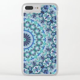 Geometric Mandala 2 Clear iPhone Case