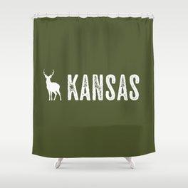 Deer: Kansas Shower Curtain