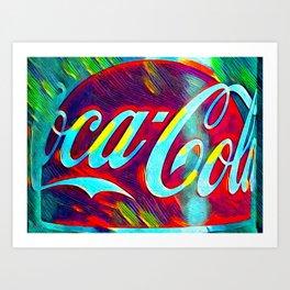 Coke Coca Cola Art Print
