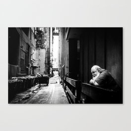 Dreaming of Better Days Canvas Print