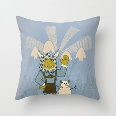 Winter In Germany Throw Pillow