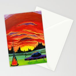 extrachoogrestrials Stationery Cards