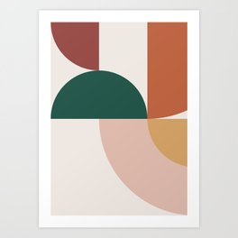 Abstract Geometric 12 Art Print