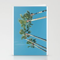 palm tree Stationery Cards featuring Palm tree by Laura James Cook