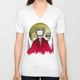Dracula version 3 Unisex V-Neck