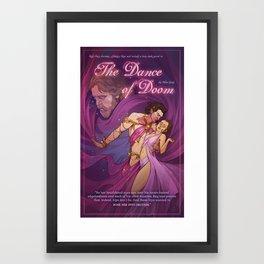 The Dance of Doom Framed Art Print