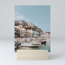banchinella porto, italy Mini Art Print