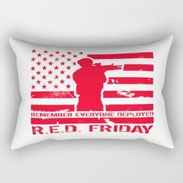 RED Friday Rectangular Pillow