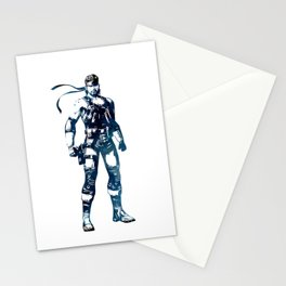 Solid Snake - Metal Gear Solid Stationery Cards