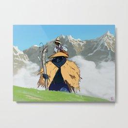 Mountain Trek Metal Print