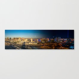 It Comes Alive at Night Canvas Print
