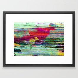 Fawn's World Framed Art Print