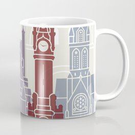 Exeter skyline poster Coffee Mug