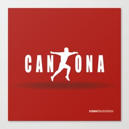 King Cantona Canvas Print