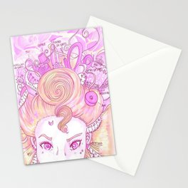 Sew Tools Girl Stationery Cards