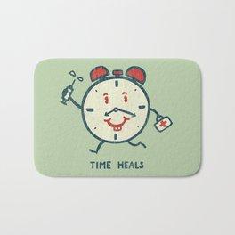 Time heals Bath Mat