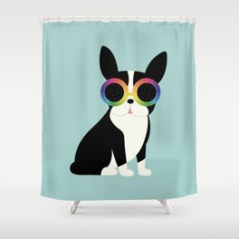 Work Hard Play Harder Shower Curtain
