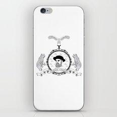 Black beard iPhone & iPod Skin